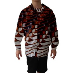 Traditional Batik Sarong Hooded Wind Breaker (Kids)