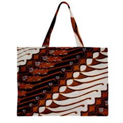 Traditional Batik Sarong Large Tote Bag