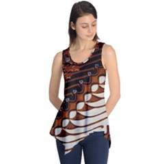 Traditional Batik Sarong Sleeveless Tunic