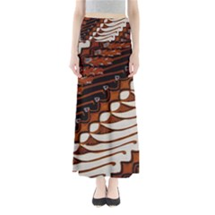 Traditional Batik Sarong Maxi Skirts