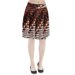 Traditional Batik Sarong Pleated Skirt