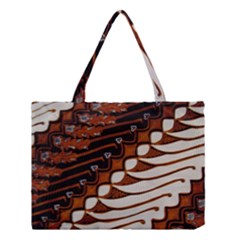 Traditional Batik Sarong Medium Tote Bag