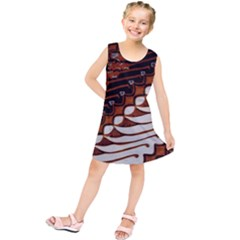 Traditional Batik Sarong Kids  Tunic Dress