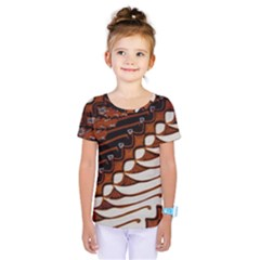 Traditional Batik Sarong Kids  One Piece Tee