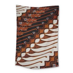 Traditional Batik Sarong Small Tapestry
