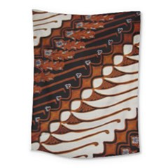 Traditional Batik Sarong Medium Tapestry