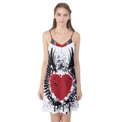 Wings Of Heart Illustration Camis Nightgown