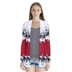 Wings Of Heart Illustration Cardigans