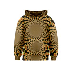Psychedelic Sunflower Kids  Pullover Hoodie