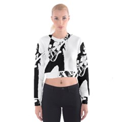 Lemmy   Women s Cropped Sweatshirt