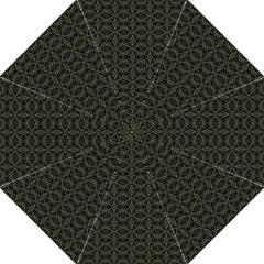 Dark Interlace Tribal  Folding Umbrellas