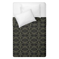 Dark Interlace Tribal  Duvet Cover Double Side (Single Size)