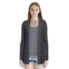 Dark Interlace Tribal  Cardigans