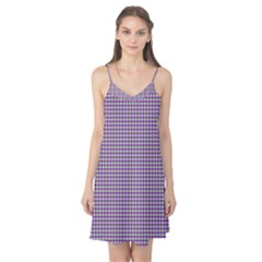 Mardi Gras Purple Plaid Camis Nightgown