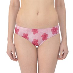 Watercolor Flower Patterns Hipster Bikini Bottoms
