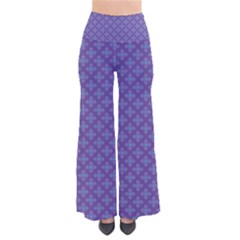 Abstract Purple Pattern Background Pants