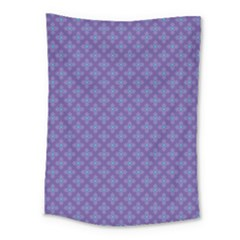 Abstract Purple Pattern Background Medium Tapestry