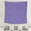 Abstract Purple Pattern Background Square Tapestry (Large) View2