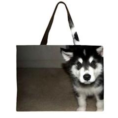 Alaskan Malamute Pup 3 Large Tote Bag
