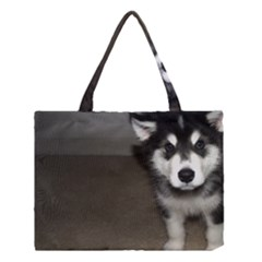 Alaskan Malamute Pup 3 Medium Tote Bag