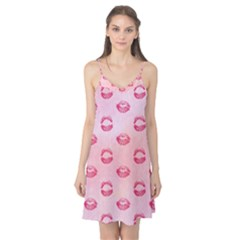 Watercolor Kisses Patterns Camis Nightgown