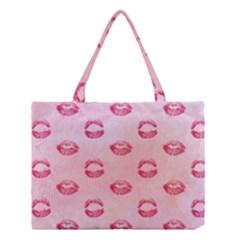 Watercolor Kisses Patterns Medium Tote Bag