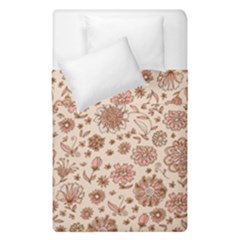 Retro Sketchy Floral Patterns Duvet Cover Double Side (Single Size)