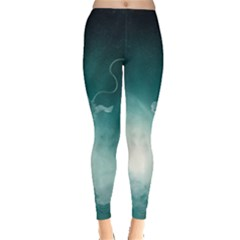 Astronaut Space Travel Gravity Leggings