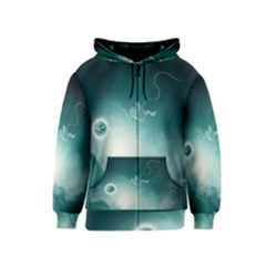 Astronaut Space Travel Gravity Kids  Zipper Hoodie
