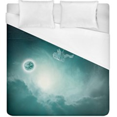 Astronaut Space Travel Gravity Duvet Cover (king Size)