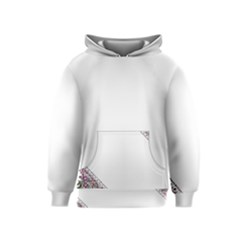 Floral Ornament Baby Girl Design Kids  Pullover Hoodie