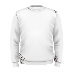 Floral Ornament Baby Girl Design Men s Sweatshirt
