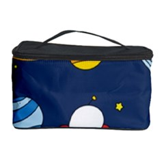 Space Background Design Cosmetic Storage Case