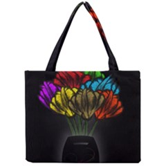 Flowers Painting Still Life Plant Mini Tote Bag