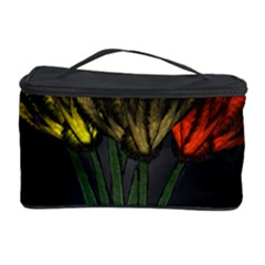 Flowers Painting Still Life Plant Cosmetic Storage Case