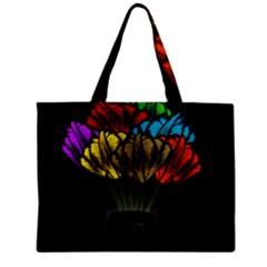 Flowers Painting Still Life Plant Zipper Mini Tote Bag