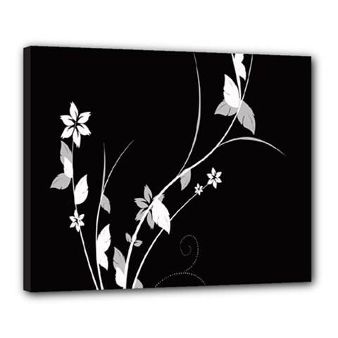 Plant Flora Flowers Composition Canvas 20  x 16