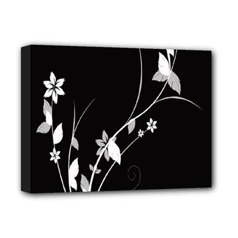 Plant Flora Flowers Composition Deluxe Canvas 16  x 12