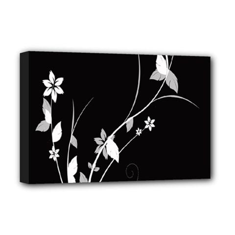 Plant Flora Flowers Composition Deluxe Canvas 18  X 12