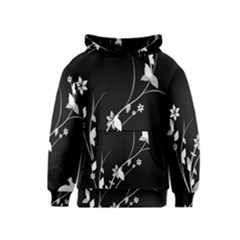 Plant Flora Flowers Composition Kids  Pullover Hoodie
