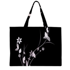 Plant Flora Flowers Composition Zipper Mini Tote Bag
