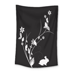 Plant Flora Flowers Composition Small Tapestry