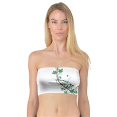 Heart Ranke Nature Romance Plant Bandeau Top