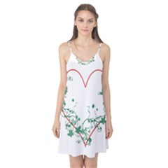 Heart Ranke Nature Romance Plant Camis Nightgown