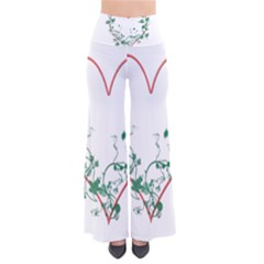 Heart Ranke Nature Romance Plant Pants