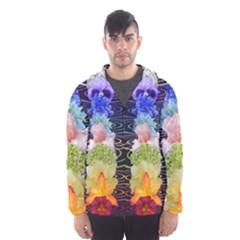 Chakra Spiritual Flower Energy Hooded Wind Breaker (Men)