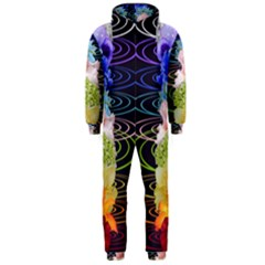 Chakra Spiritual Flower Energy Hooded Jumpsuit (men)