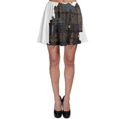 Steampunk Lock Fantasy Home Skater Skirt
