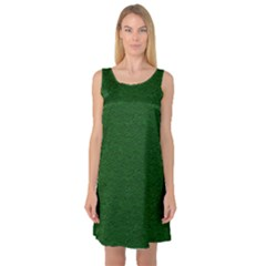 Texture Green Rush Easter Sleeveless Satin Nightdress