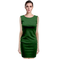 Texture Green Rush Easter Classic Sleeveless Midi Dress
